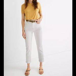 Madewell High Rise Straight Jeans